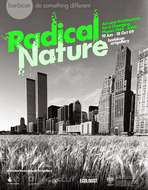 The retrospective Radical Nature exhibition was supported by the RSA Art & Ecology programme and hosted Prof TJ Demos' first writings on the topic in 2009. I spent two days at the exhibition as it was so rare to see such work on display at the time.