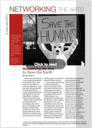 networking the arts to save the earth