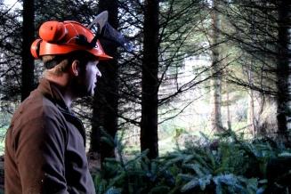 Our ProSIlva forester, Sean Hoskins