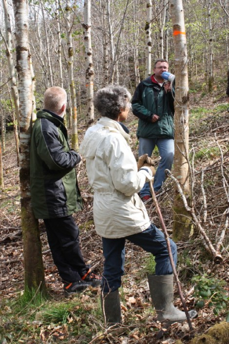 ProSilva Forest Open Day: led by ProSilva Czech forester Toma Vbska