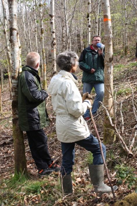ProSilva Forest Open Day: led by ProSilva Czech forester Toma Vbska