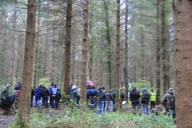 Great that so many demonstrations were in the forest too