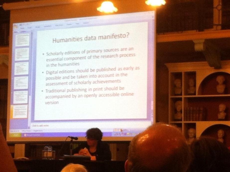 RIA digital humanities
