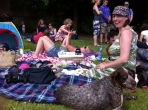 Holly enjoying the jenskinstown wood picnic