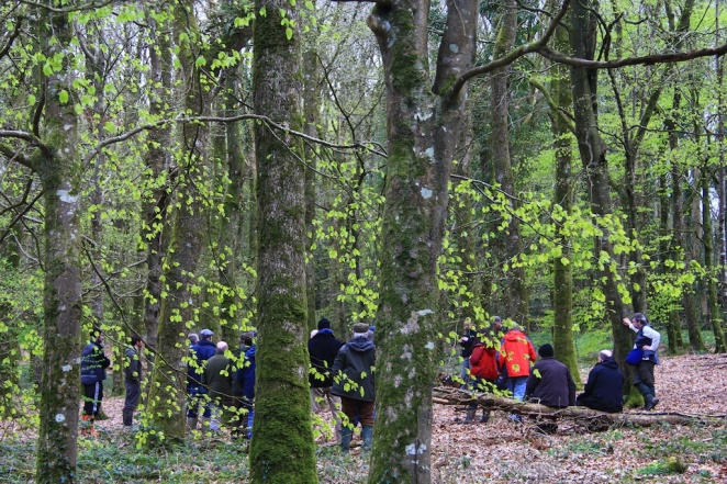 I attended a recent ProSilva open forest day to learn more about Continuous Cover forestry