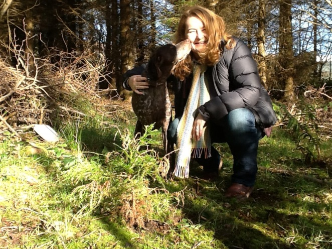 Holly, Hollywood and Cathy Fitzgerald - bringing Resiliencies: stories of transformation from a small Irish forest to Findhorn in late September