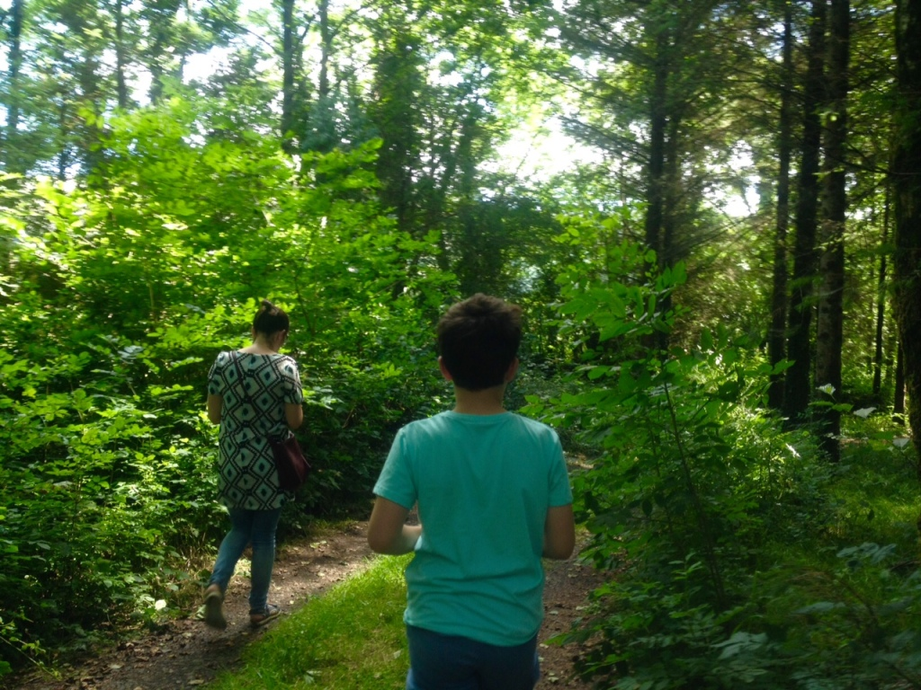Dara and his mother in Hollywood Forest (2016) Photo: Cathy Fitzgerald